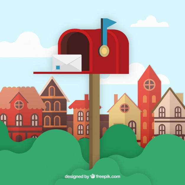 mailbox with street address