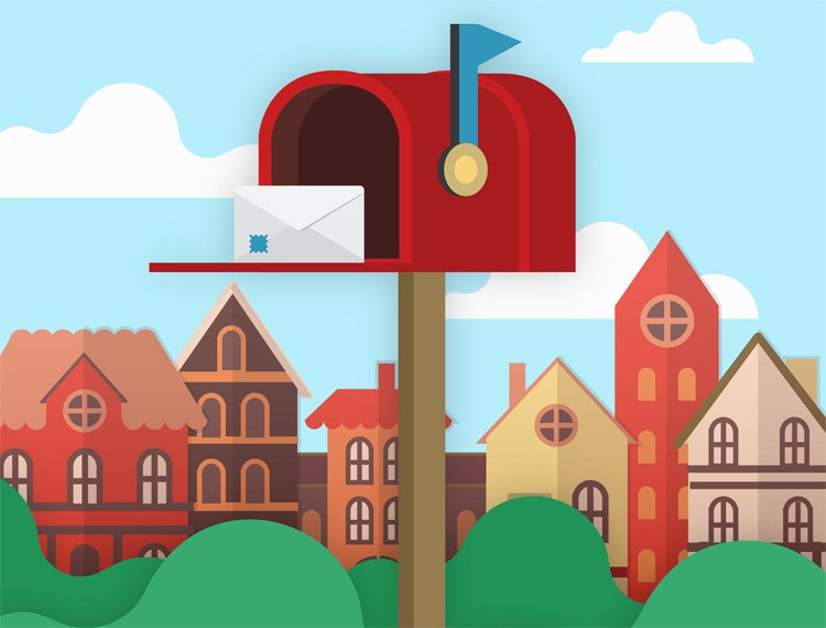 Rent Mailbox With Street address