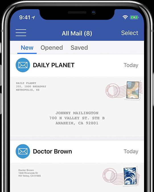 Virtual Mailbox Features | PostScan Mail